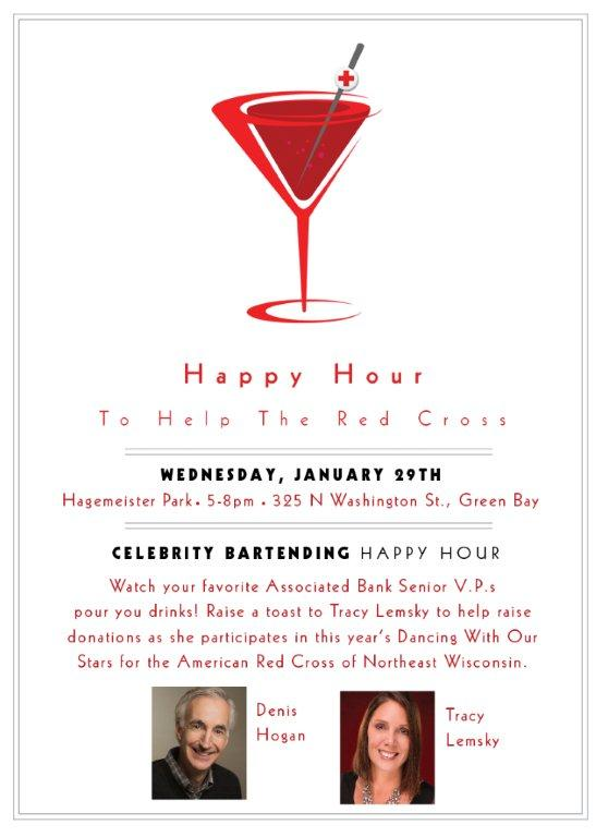 Happy Hour To Help the Red Cross - Tracy