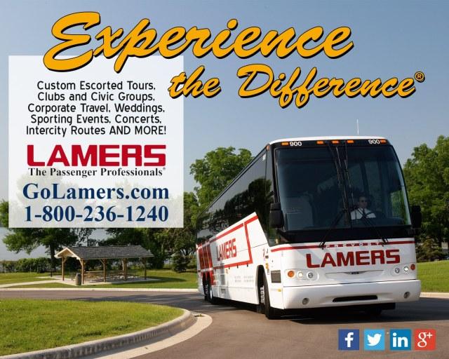 Lamers Bus Lines digital ad 2015
