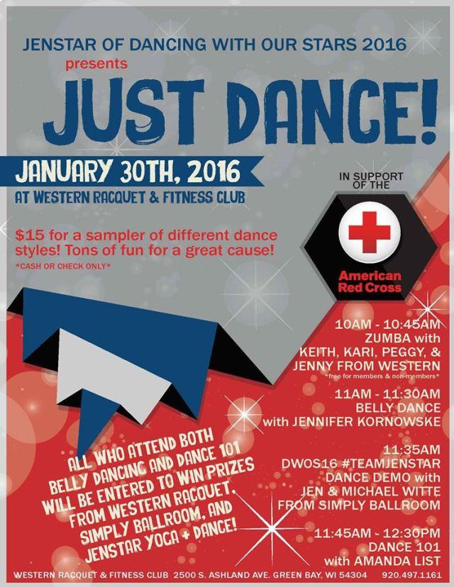 dance jen fundraiser